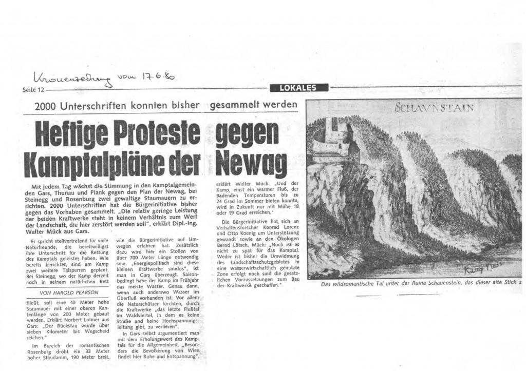 KRONE Kamp 1980